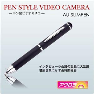 ペン型カメラ SLIMPEN BLACK - 拡大画像