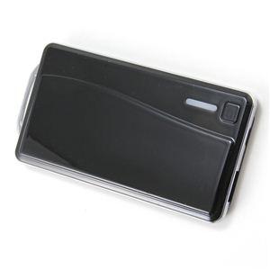 アウロラ 2000mAモバイルバッテリー AU-USBPSLite ブラック - 拡大画像