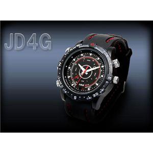 【防犯】U-lex(ユーレックス) ダイバーズウォッチデザイン ICビデオレコーダー JD4G - 拡大画像