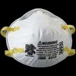 【まとめ買い用】3M社製 カップ型微粒子用マスク N95マスク 20枚入×10箱(200枚入)
