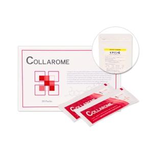 コラローム 1箱(15g×30包) ビタミンC90粒付き - 拡大画像