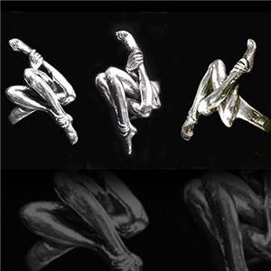HRギーガージュエリー Biomechaniod Sterlling silver Ring 19号 - 拡大画像