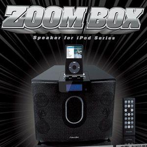 Princeton 2.1chマルチメディアスピーカー ZOOM BOX PSP-ZBB(iPod対応) - 拡大画像