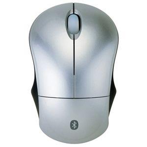 Princeton Bluetooth マウス PSM-BT シルバー - 拡大画像