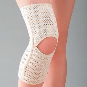 薄手でしっかり膝サポーター 1枚 M - 拡大画像