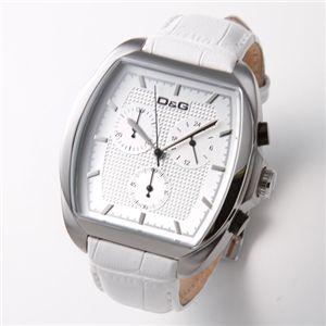D&G(ディーアンドジー) 腕時計 MARTIN クロノグラフ ユニセックスレザーウォッチ DW0427 - 拡大画像