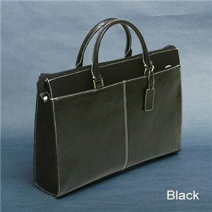 youta(ヨータ)プレミアムビジネスブリーフバッグ Y0001 ブラック - 拡大画像