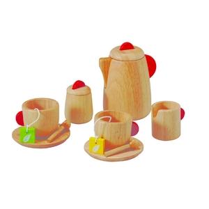 PLAN TOYS(プラントイ) ★木製玩具(木のおもちゃ)★3433★ ティーセット - 拡大画像
