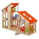 PLAN TOYS(プラントイ) ★木製玩具(木のおもちゃ)★7141★ 家具付きシャレードールハウス - 縮小画像1
