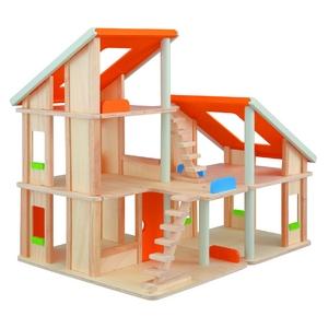★PLAN TOYSの木製玩具(木のおもちゃ)★7139★ シャレードールハウス - 拡大画像