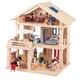 ★PLAN TOYSの木製玩具(木のおもちゃ)★71081★ テラスドールハウス - 縮小画像1