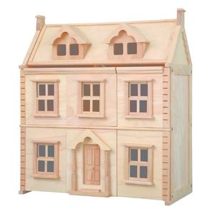 PLAN TOYS(プラントイ) ★木製玩具(木のおもちゃ)★7124★ ビクトリアンドールハウス - 拡大画像