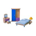 PLAN TOYS(プラントイ) ★木製玩具(木のおもちゃ)★7309★ カラーベッドルーム