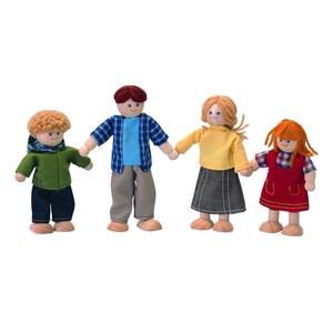 PLAN TOYS(プラントイ) ★木製玩具(木のおもちゃ)★7415★ ドールファミリー - 拡大画像