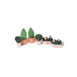 PLAN TOYS(プラントイ) ★木製玩具(木のおもちゃ)★7336★ パティオプラントセット - 拡大画像
