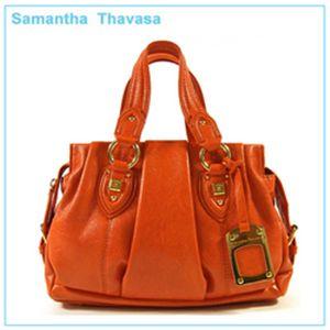 【新作2010】samantha thavasa(サマンサタバサ)バッグ オレンジ  - 拡大画像