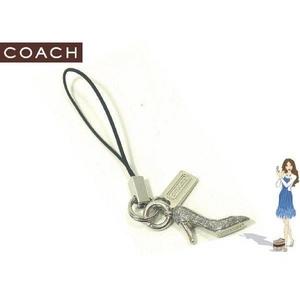 Coach(コーチ) ストラップ ハイヒール セルフォン ランヤード 92264 - 拡大画像