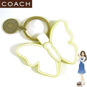 Coach(コーチ) キーホルダー バタフライ キーフォブ 92240 - 拡大画像