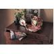 【箱入り】■日本製高級風呂敷■はいからもだん友仙ふろしき[二巾]■貝合わせに桜散らし(ピンク)■ - 縮小画像4