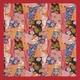 【箱入り】■日本製高級風呂敷■はいからもだん綿大ふろしき■寄裂古布(赤)■ - 縮小画像1