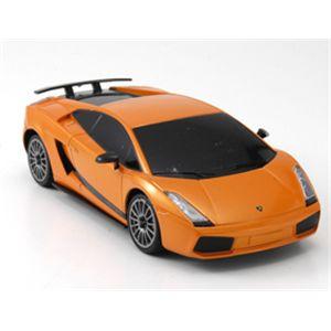 ライセンス認証ランボルギーニ 1/24ガヤルド スーパーレジェーラ オレンジ - 拡大画像