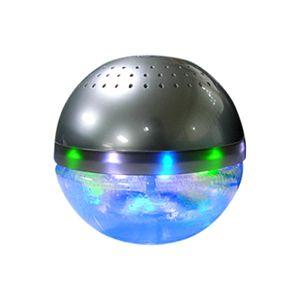 水で洗う空気清浄機 arobo CLV-306 シルバー - 拡大画像