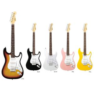 K-GARAGE(Kガレージ) エレクトリックギター KST-150 イエロー - 拡大画像
