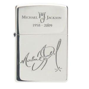 マイケルジャクソン ZIPPO D(サイン柄) - 拡大画像