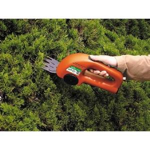 電動 草刈機/ガーデニング用品 【幅34cm】 充電式 コードレス 両刃駆動方式 低振動 『芝生・草刈りバリカン』 - 拡大画像