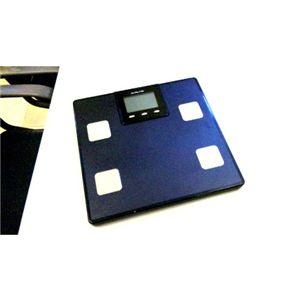 体重&体組成計 MULTI FUNCTION SCALE ブラック - 拡大画像