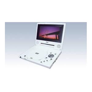 3電源対応 USB端子・SDスロット搭載 7インチポータブルDVDプレーヤー PDV736 - 拡大画像