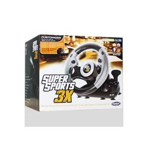 マルチレーシングコントローラー Super Sports 3X 【PS3・Xbox360・PC 対応】 - 拡大画像