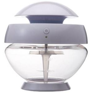 水で洗う空気清浄機arobo CLV 1000 Mサイズ パールホワイト - 拡大画像
