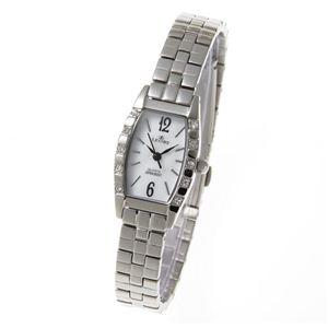 LEOBE(リオベ) ステンレスベルト 腕時計 YL-319LC シルバー - 拡大画像