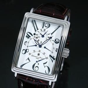 【Salvatore Marra】自動巻き腕時計 SM6020-SV - 拡大画像