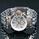 【Salvatore Marra】クロノグラフ腕時計 SM7019-PGWH - 縮小画像3