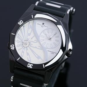 【Salvatore Marra】デュアルタイム腕時計 SM8007-WH - 拡大画像