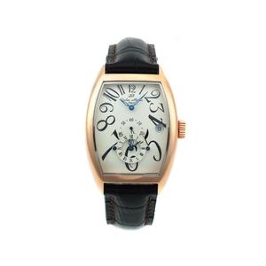 【Dolce Medio】デュアルタイム腕時計 DM8005PGWH - 拡大画像