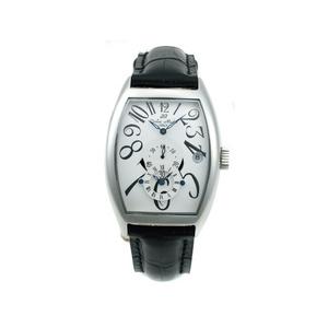 【Dolce Medio】デュアルタイム腕時計 DM8005SSWH - 拡大画像