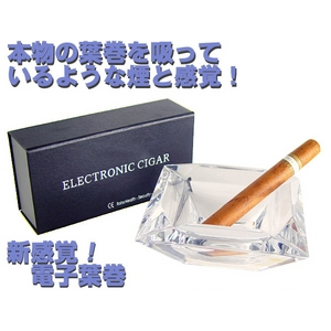 電子葉巻「ELECTRONIC CIGAR/エレクトロニックシガー」ノーマル風味 - 拡大画像