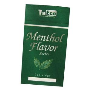 「TaEco」(タエコ)専用交換カートリッジ(バージニンスリムメンソール風味[TC-204])15本入り - 拡大画像