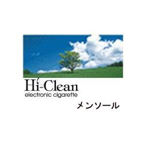 次世代電子タバコ「Hi-Clean」専用交換カートリッジ10本セット メンソール - 拡大画像