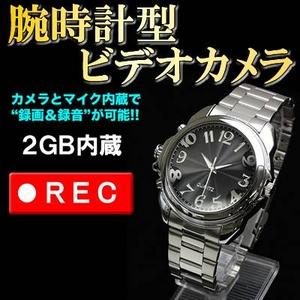 腕時計型 ビデオカメラレコーダー/録画録音機能付き - 拡大画像
