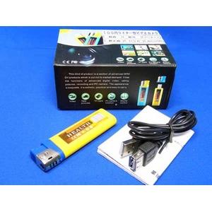 【ライター型】小型ビデオカメラ☆音声コントロール機能付 SDカードタイプ 200万画素 - 拡大画像