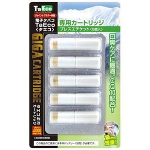 「TaEco」(タエコ)専用交換ギガカートリッジ(ブレスエチケット)5本入り - 拡大画像