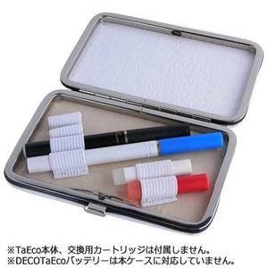 「TaEco」(タエコ)専用携帯用ケース(白) - 拡大画像