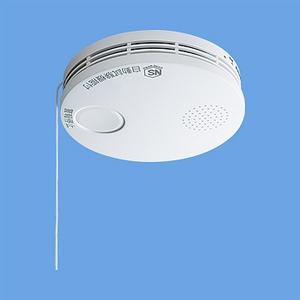 けむり当番 薄型 住宅用火災警報器 電池式 10年寿命 SH38455 - 拡大画像