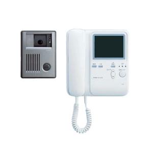 受話器式カラーテレビドアホン3-5形親機・子機セット KBS-3ARD-T - 拡大画像