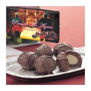 【ハワイ土産】プロミス・ミー・アゲイン マカデミアナッツチョコレート 6箱セット - 拡大画像