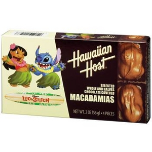 [ハワイ土産] ハワイアンホースト リロ&スティッチ マカデミアナッツチョコレート 12箱セット - 拡大画像